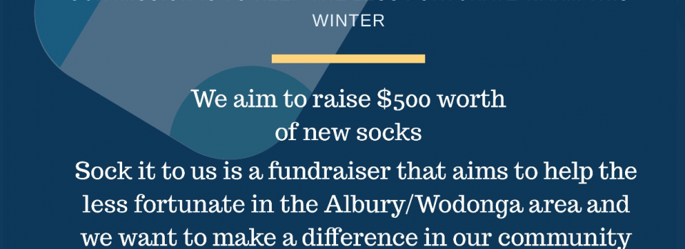 Sock it to us! Fundraiser